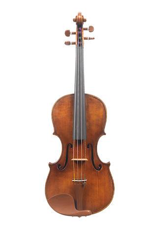 A Violin attributed to Gaetano Chiocchi circa 1877