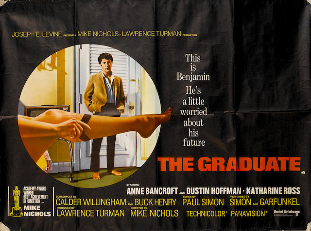 The Graduate, Embassy Pictures Corp, 1967,