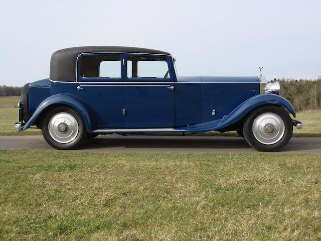 1932 Rolls-Royce 20/25hp Sports Saloon  Chassis no. GHW43