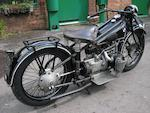 1928 BMW 486cc R52  Frame no. 25852 Engine no. 48871