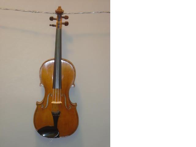 A Hawkes and Son Violin circa 1900