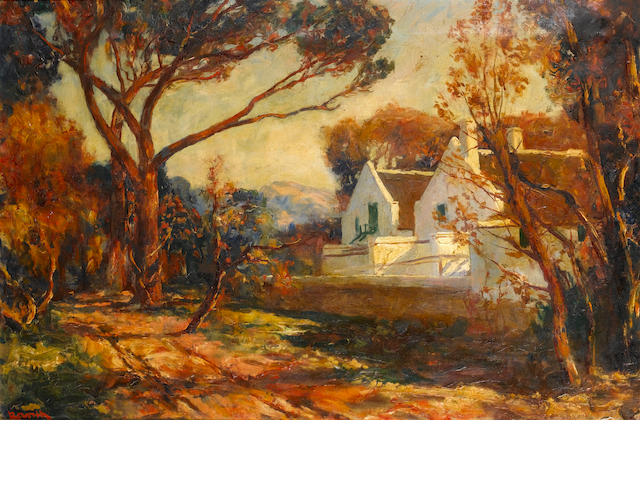 Edward Roworth (South African, 1880-1964) Bergvlei