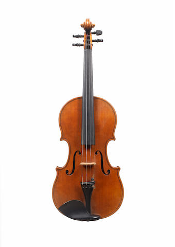 A Violin attributed to Luigi Villa, Milano, 1955