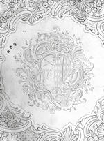 A fine George II Irish silver salver, by John Hamilton, maker's mark stamped on front and reverse, Dublin circa 1740,