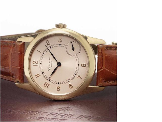 Patek Philippe. A fine 18ct rose gold automatic wristwatch Ref.5000, Sold 17th August 2006