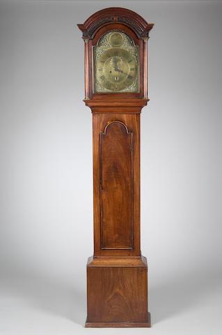 A George III mahogany longcase clock Henry Goddard, Dover