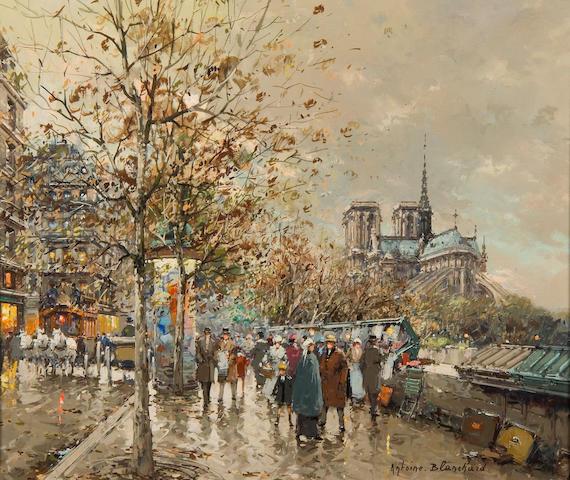 Antoine Blanchard (French, 1910-1988) Notre Dame de Paris