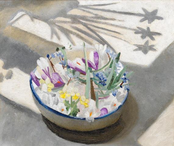 Winifred Nicholson (British, 1893-1981) Spring 51.5 x 61 cm. (20 1/4 x 24 in.)