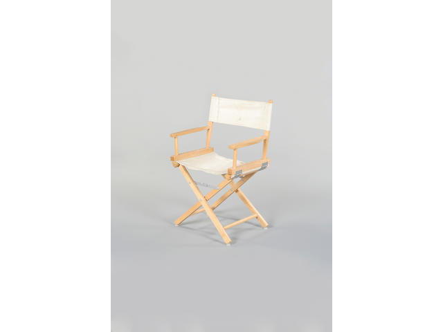A Spike Milligna directors chair,