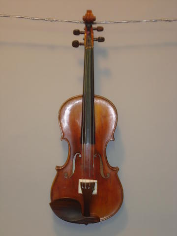 An English Violin of the Furber School circa 1825