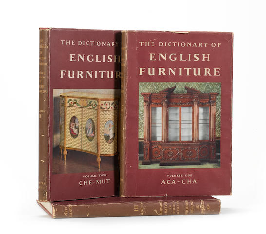 Edwards, Ralph, C.B.E., F.S.A, The Dictionary of English Furniture