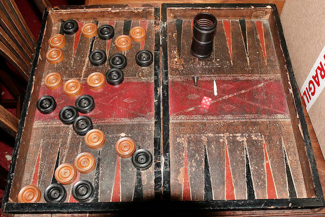 A morocco bound folding games board