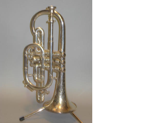 "A three valve Besson & Co ""Prototype"" Cornet"