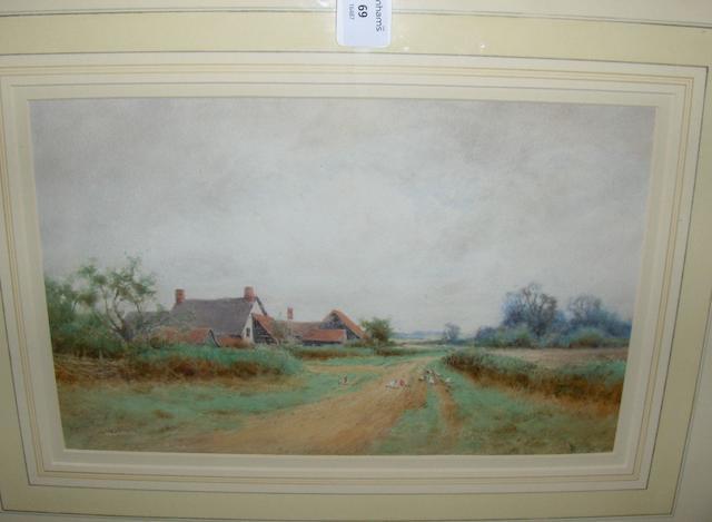 Henry John Sylvester Stannard, RBA (British, 1870-1951)