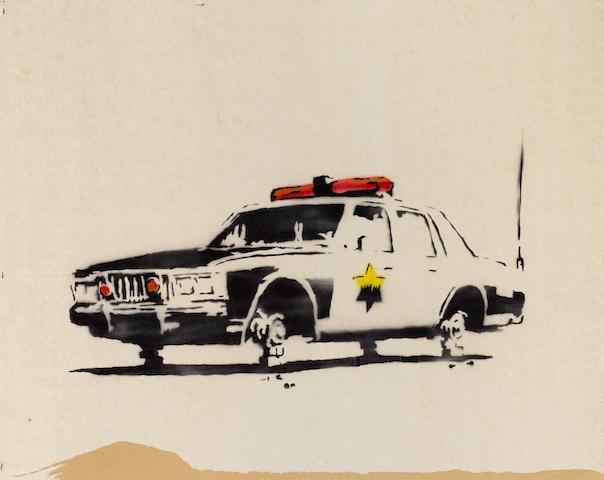 Banksy (British, born 1975) 'Police Car', 2003