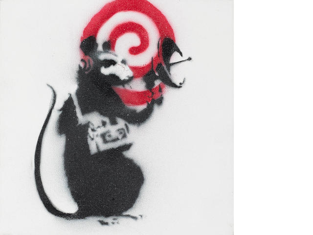 Banksy (British, born 1975) 'Radar Rat', 2002