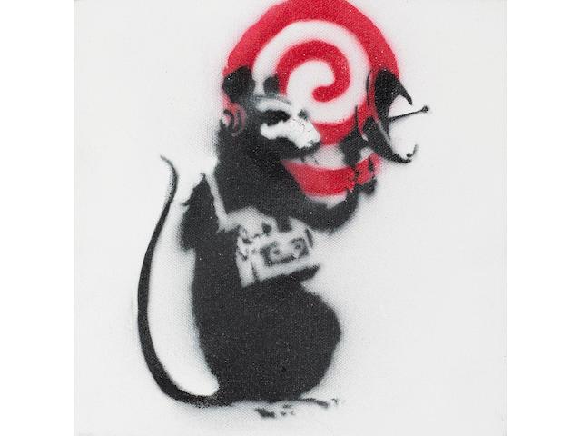 Banksy (British, born 1975) 'Radar Rat', 2002