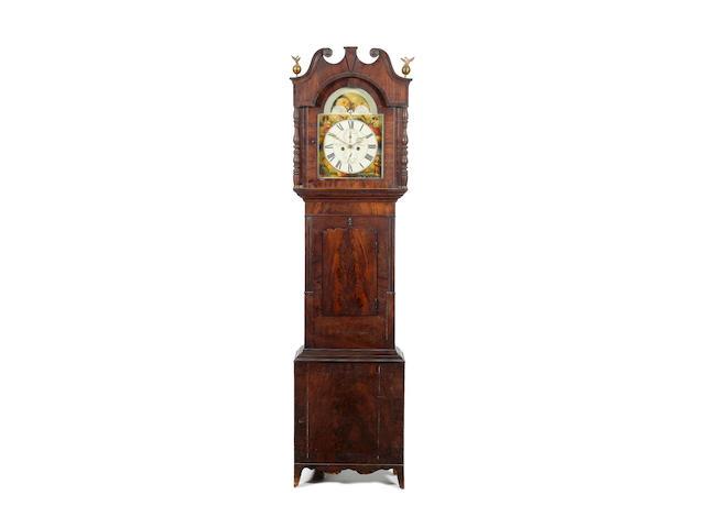 A second quarter of the 19th century mahogany longcase clock, Lister, Halifax,