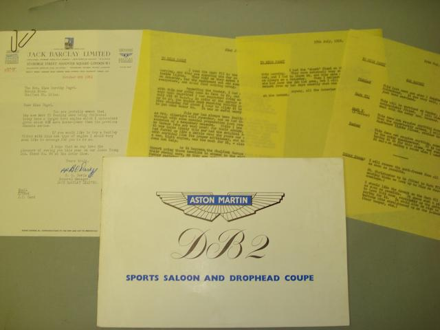 A quantity of ephemera relating to the post-war motoring activities of the Honorable Dorothy Paget,