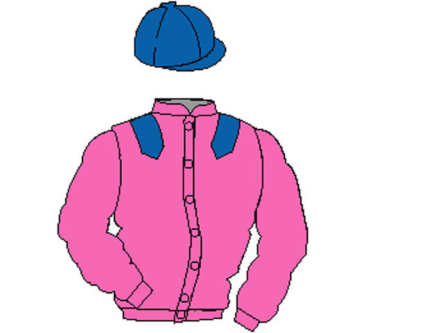Distinctive Colours: Pink, Royal Blue epaulets and cap