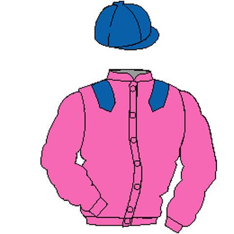 Distinctive Colours: Pink, Royal Blue epaulets and cap