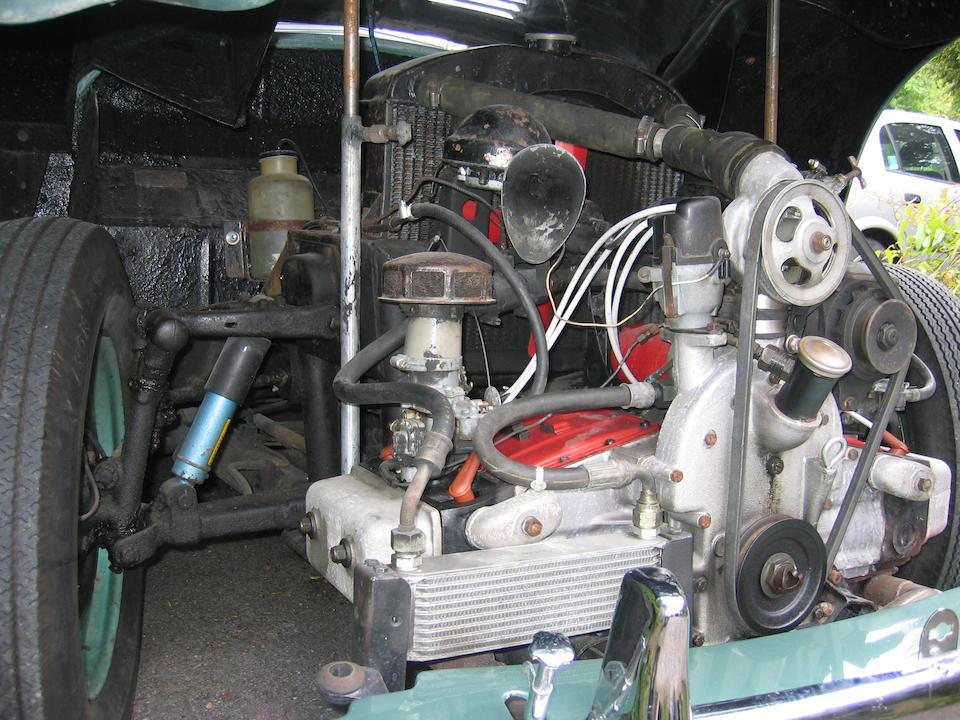 1952 Jowett Jupiter Convertible  Chassis no. 793 Engine no. E2SAL 793R
