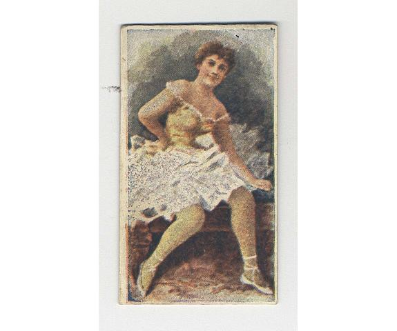 """Actresses & Beauties A collection of various part sets and odds in album leaves inc. Churchman, Muratti, Richmond Cavendish, Phillips, Robinson, Archer, Lloyd, Roberts, Bell's """"Scotia"""", Redford etc., F-VG."""