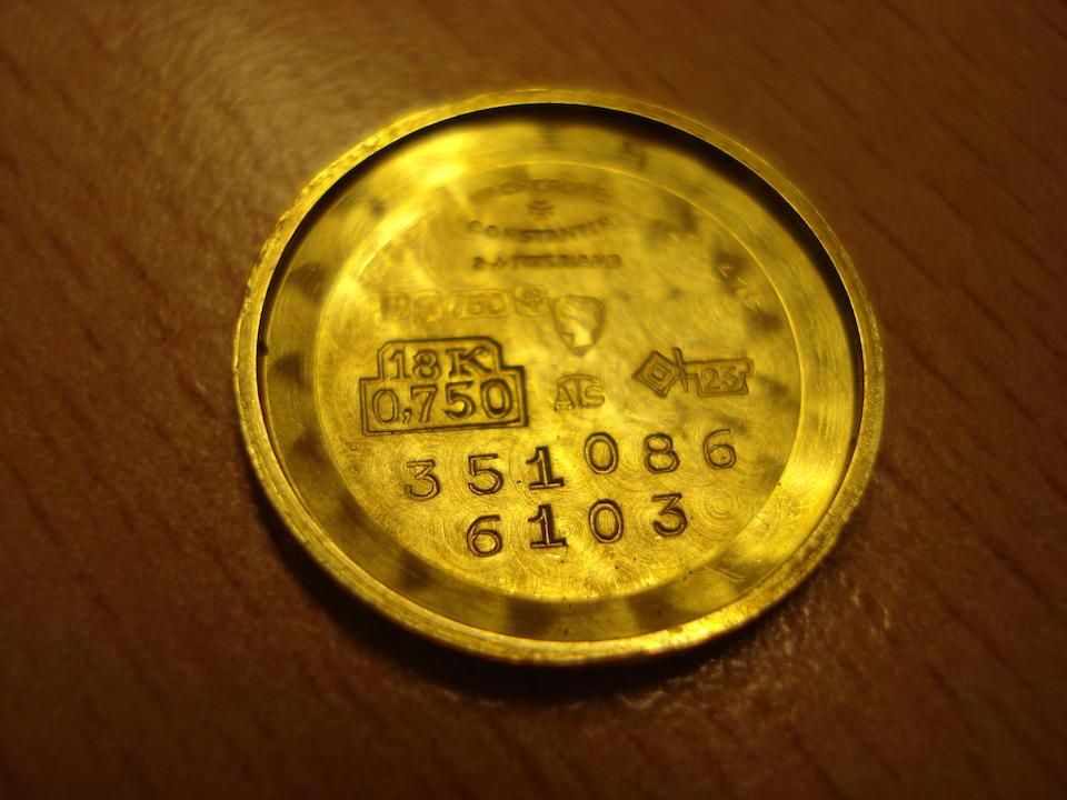 A Vacheron & Constantin 18ct. gold lady's wrist watch