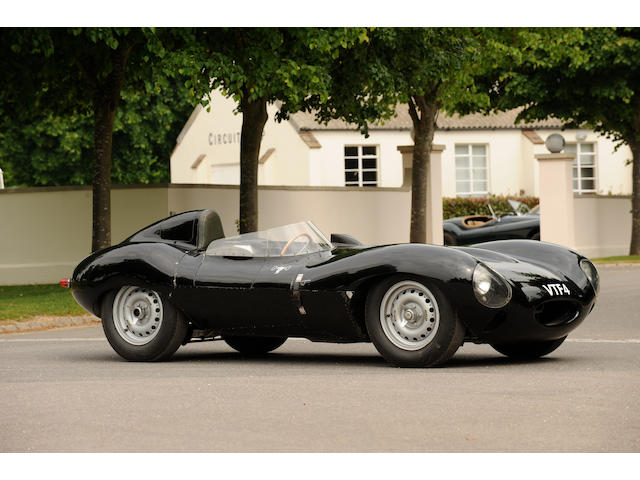 The 'first off the production line', Ex-Al Browne/Lou Brero Sr and Moores Collection,1955 3.4-Litre Jaguar D-Type Sports-Racing Two-Seater  Chassis no. XKD 509 Engine no. E2015-9
