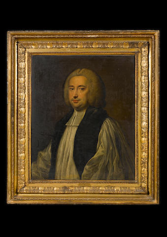 Sir Nathaniel Dance Holland (London 1734-1811 Winchester) Portrait of Richard Terrick (1710-1777), B