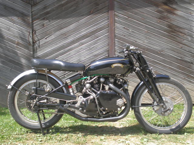 c.1950 Vincent 998cc Rapide Racing Motorcycle