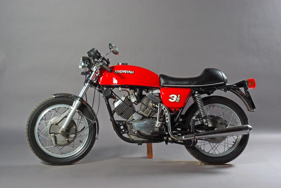 1975 Moto Morini 344cc '3½' Sport  Frame no. A106 684 Engine no. A105 684