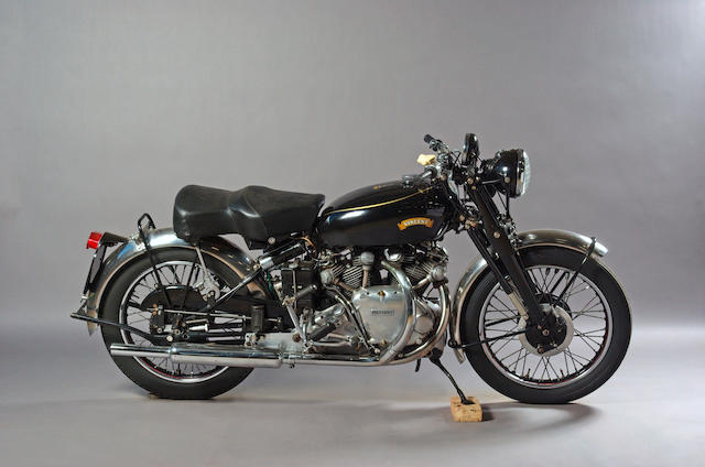 1952 Vincent 998cc Black Shadow  Frame no. RC10157B/C Engine no. F10AB/1/B2/8257