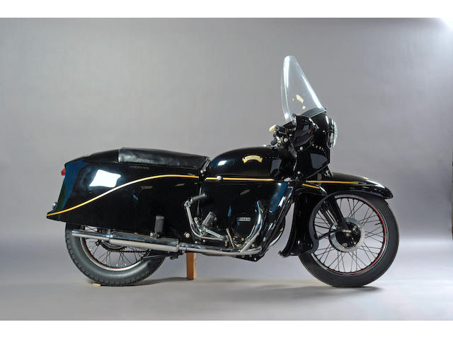 1955 Vincent 998cc Black Prince