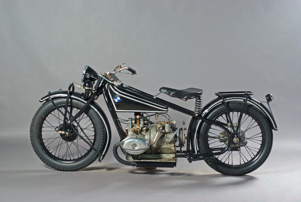 1927 BMW 500cc R47  Frame no. 4798 Engine no. 34842
