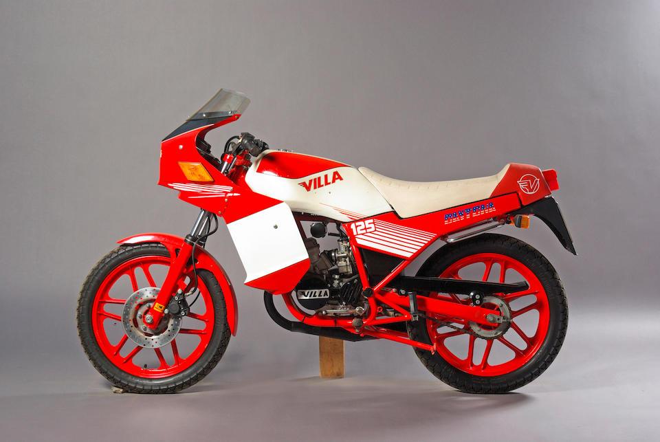 70 kilometres from new,1986 Villa Daytona 125  Frame no. 4175