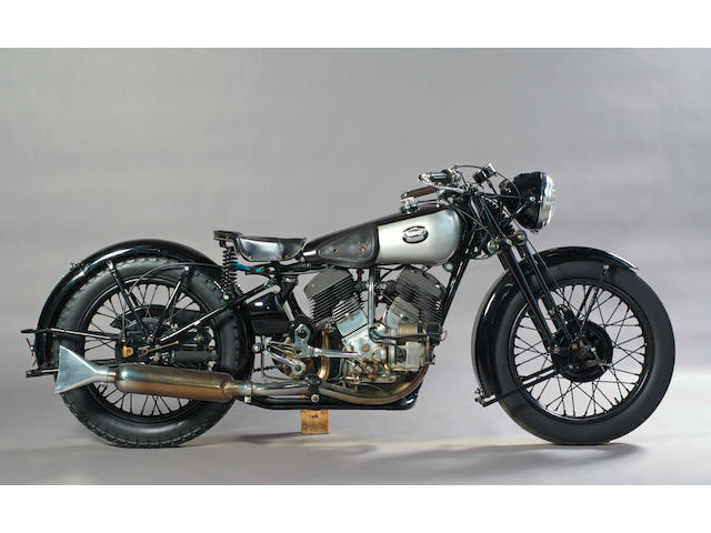 1935 Brough Superior 1,096cc 11-50hp  Frame no. 8/1511 Engine no. LDZ/D41208/SE