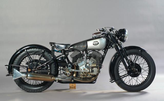 1935 Brough Superior 1,096cc 11-50hp  Frame no. 8/1511 Engine no. LDZ/D41208/SE