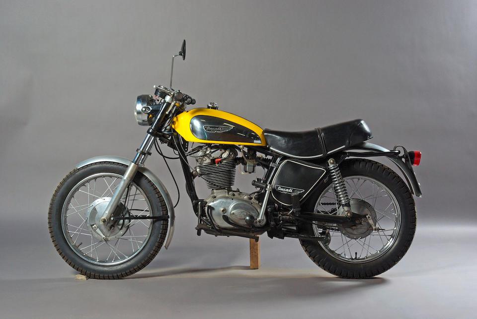 1972 Ducati 450 Scrambler  Frame no. 465064 Engine no. 458245