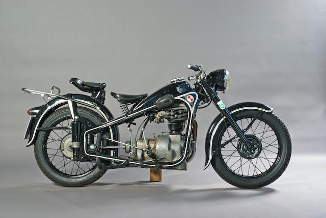 1952 EMW 342cc R35  Frame no. 236111 Engine no. 236111