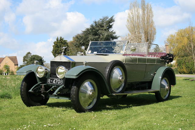 1919/20 Rolls-Royce 40/50hp Silver Ghost Alpine Eagle 25 AE