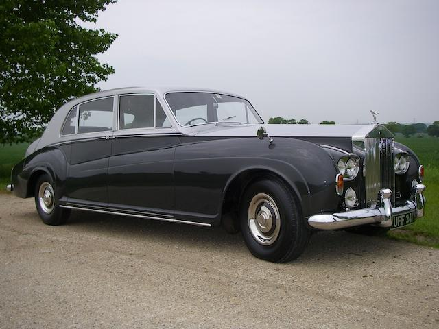 The ex-Earls Court Motor Show,1962 Rolls-Royce Phantom V Touring Limousine (PV 22)  Chassis no. 5VA7 Engine no. A4PV