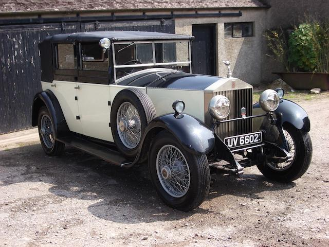 1929 Rolls-Royce 20hp Fully Convertible Sedanca  Chassis no. GVO 3 Engine no. U9F