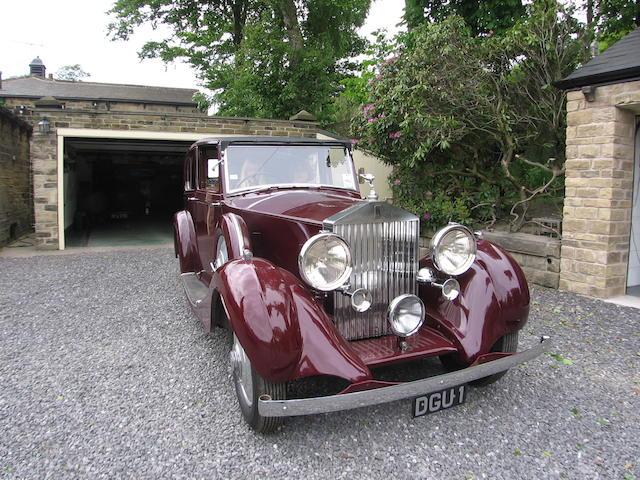 1936 Rolls-Royce 25/30 Sedanca de Ville,