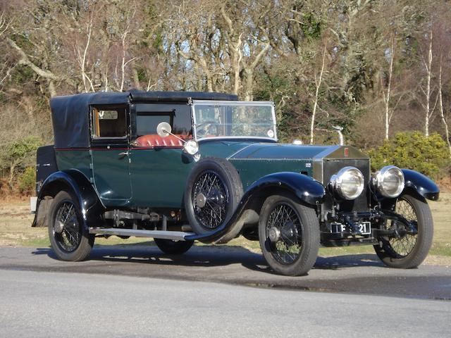 1921 Rolls-Royce 45/50hp Silver Ghost Salamanca Cabriolet  Chassis no. 182 AG Engine no. 0313