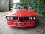 1971 BMW CS 2800 Coupé  Chassis no. 2205894 Engine no. 4866192
