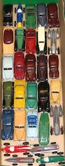 Dinky a collection of assorted mostly early post war cars 29