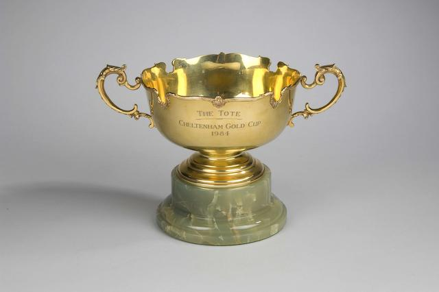 The 1984 Tote Cheltenham Gold Cup awarded to Burrough Hill Lad