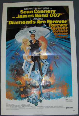 Diamonds Are Forever, 1971, Eon/United Artists,
