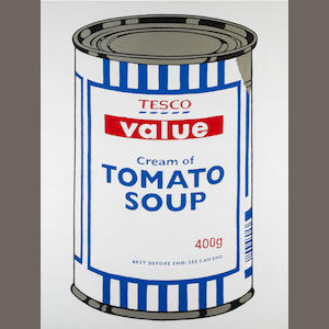 Banksy (British, born 1975) 'Tesco Value Tomato Soup', 2005